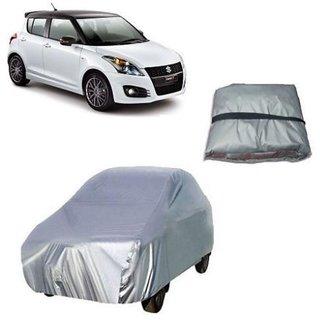 Maruti Suzuki Swift 2013 Car Body Cover Silver