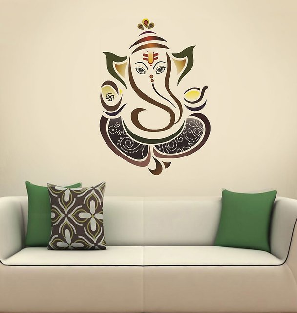buy eja art ganesha sticker online - get 86% off