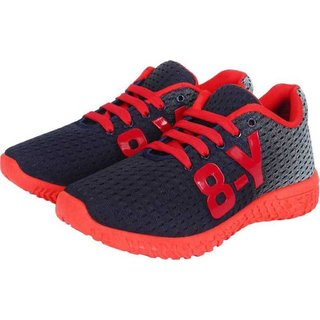 Axter-1064 Red Sports  Running Shoes For Men