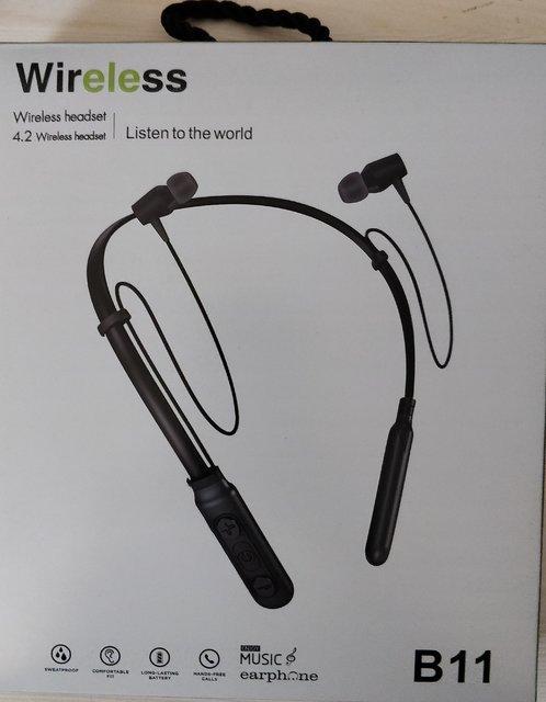 Digibuff B11 In the Ear Bluetooth Neckband Wireless Earphone