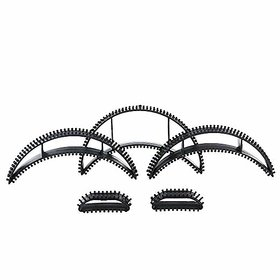 GadinFashion Set of 5 Bumpits For Hair Puff  (Black)