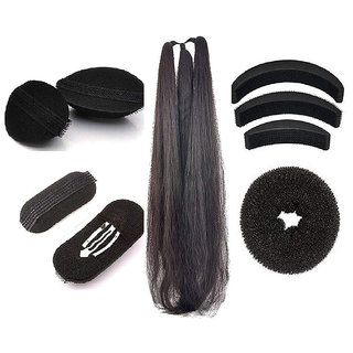 GadinFashion Set of 9 Hair Accessories for Women/Girls Weding and Festival