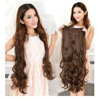 rkd  Brown Casual Hair Extension