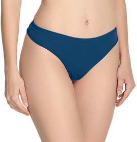 The Blazze Women's Thong Low Rise Sexy Solid G-String Thong Bikini T-String Sexy Lingerie Panties Briefs