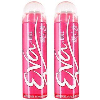 Eva Doll Deodorant Spray for Women Combo Pack of 2 125ML each 250ML