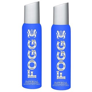 Imperial Fragrant Body Spray for Men Pack of 2 Combo 120ML each 240ML