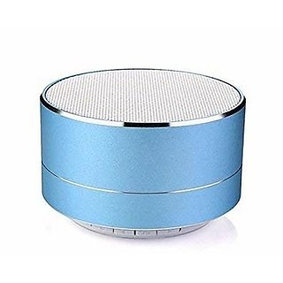 doitshop A18 b Mini Portable Bluetooth Stereo Speaker with Built-in-Mic SD Card Supported (Assorted Colour)