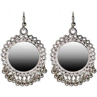 Hafeeng Alloy Earring with Mirror