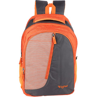 cf4e2154aaa6 Buy Vogue Orange Polyester Backpack for Men and Women Online - Get 33% Off