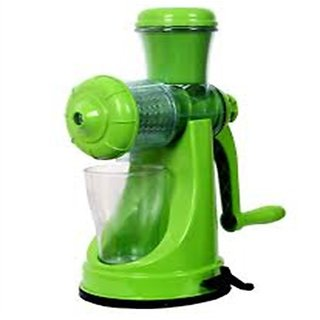 Fruit and Vegetable Plastic Juicer 1 Piece Green