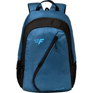 F Gear Borealis 25 Liters Backpack (Marine Blue Diamond, Black Guc)