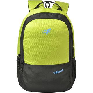 F Gear Parvis 26 Liters Backpack (Fl. Green Diamond, Black Guc)
