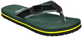 Altek Orthopedic Green Comfort Flip Flops For Men's