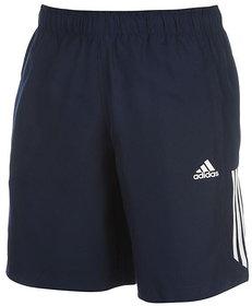Adidas Navy Lycra Running Shorts For Men