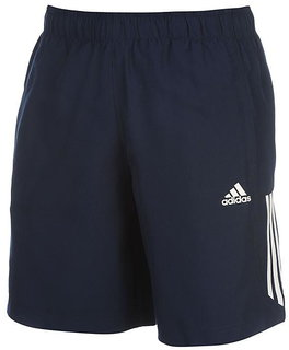 Adidas Men's Navy Lycra Running Shorts