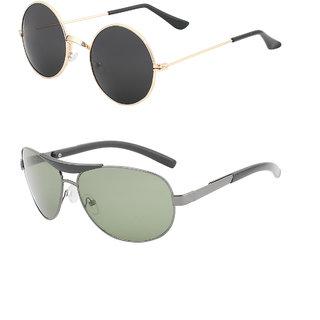 501ecbabcdfe0 Buy Amour Propre Aviator Sunglasses combo Online - Get 64% Off