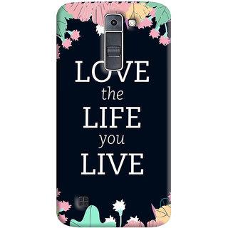 FurnishFantasy Mobile Back Cover for LG K7 - Design ID - 1027