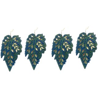 A&H Earring For Girls , Womens  Stylish Modern,Traditional  Combo of 2 pcs  Latest Fancy Brass  Earring  - Blue color ( 2 Pcs )