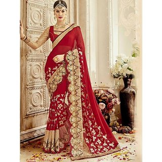 Bridle wedding saree