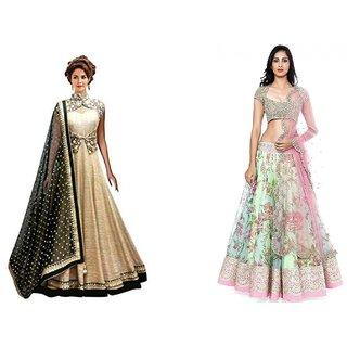 175550cde0 Buy Srk Blue Colour Benglori Silk Embroidered Saree Sn-47 Online ...