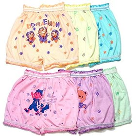 Bexzzor Multicolor Panty for Kids(Pack of 6)