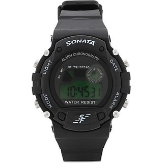 SONATA super fiber digital watch for mens and boys