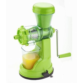 BLUE SKY Fruit Vegetable Juicer Mixer Grinder with Steel Handle.