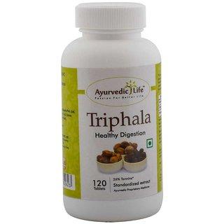 Ayurvedic Life Triphala 120 Tablets