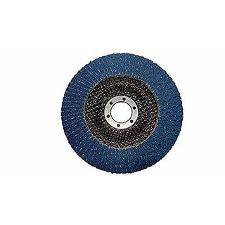 Excel Impex Flap Wheel disc for steel, metals 5 inch Diameter (10 pieces for angle grinder)