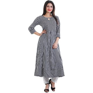 Shree Wow Crepe Anarkali Kurti