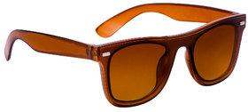 TheWhoop Stylish UV Protected Brown Goggles Wayfarer Sunglasses For Men, Women, Boys, Girls