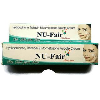 NU-Fair Skin Shining Cream ( Pack of 1 pcs. ) 15 gm each