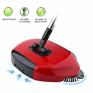 New Designe and Easy Use Auto Spin Hand Push Sweeping Broom Floor Dust Cleaning Sweeper Cleaner Mop Tool