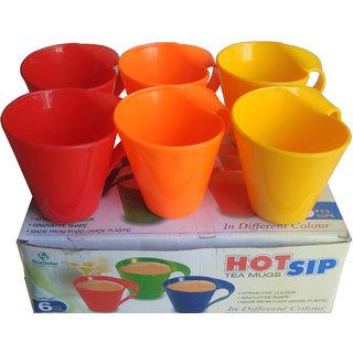 Plastic mugs (pack of 6)250ml