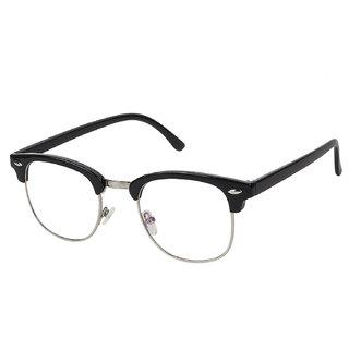 cc0d2505d44 Arzonai Clubmaster Wayfarer Black-Transparent UV Protection Sunglasses For  Men   Women
