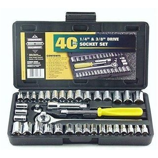 40PCS COMBINATION SOCKET WRENCH SET ALL IN ONE