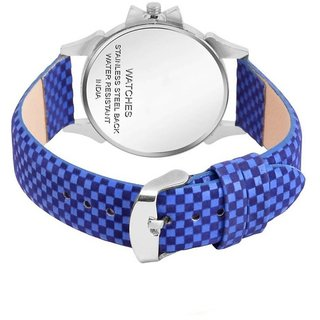 15711d40c Buy Lava Creation Stylish Blue Watch Flower Design With Round Dial Girls  Wrist Watch For Women (315-Blue) Online - Get 67% Off