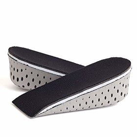 House of Quirk Memory Foam Height Increase Insole Invisible Increased Heel Lifting Inserts Shoe Lifts Shoe Pads Elevator
