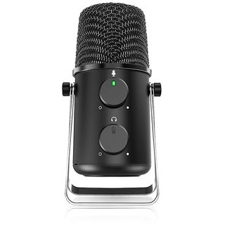 Maono Au-902L Fairy lite USB Condenser Microphone with Echo and Volume Control - Vocal Mic for Recording