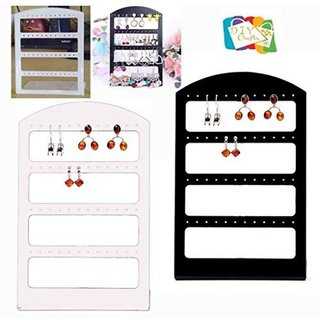 DIY Crafts 15Jewellery Organizer Stand Display Earring Holder Stand Rack Store