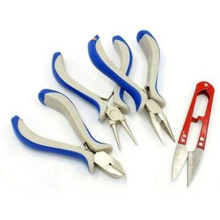 DIY Crafts DIY Jewelry Tool Making Beading Beads Crafting Sets Pliers Rings Hand Scissored