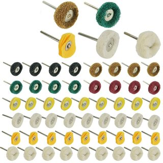 DIY Crafts Mini Polishing Pad Abrasive Buffing Wheel (Pack of 20 Pcs)