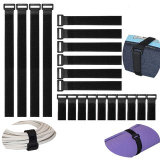 DIY Crafts Reusable Fastening Cable Straps and Cable Ties Set 20 Pack(8