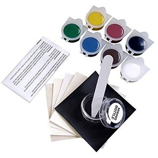 DIY Crafts Leather and Vinyl Repair Kit for Rips, Jacket, Leather Car Seat & Household Adhesive