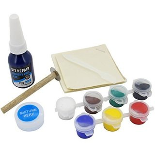 DIY Crafts Leather and Vinyl Repair Kit for Rips, Upholstery Jacket, Leather Car Seat