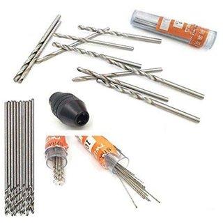DIY Crafts Micro Hss Drill Bits 10Pcs 0 5Mm Straight Mini Twist Drill Electricr