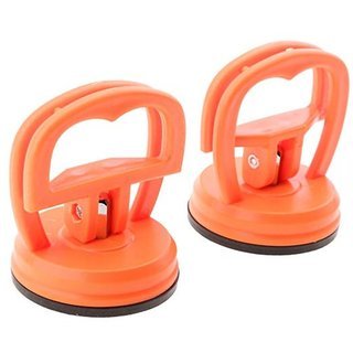 DIY Crafts India 2 Pcs Heavy Duty Suction Cup, LCD Screen Opening Tool for Computer, Cell Phone and Tablet Pc (Red)