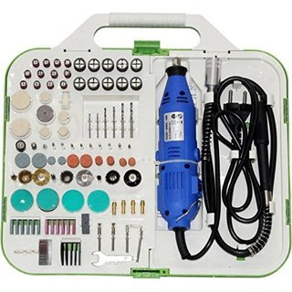 DIY Crafts Craft Rotary Tool Accessories Style Mini Dremel Rotary Tool Kit with 163 Pcs Accessories Grinds (3 mm)
