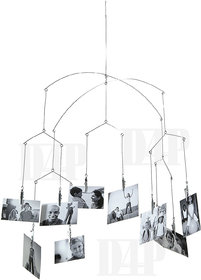D4P Rotating Hanging Photo Album Frame with Clip (10 Photo)(Height 2 ft)