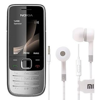 Nokia 2700 / Good Condition/ Certified Pre Owned (1 Year Warranty) With Earphone